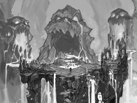 Darksiders: The Charred Council WIP concept art