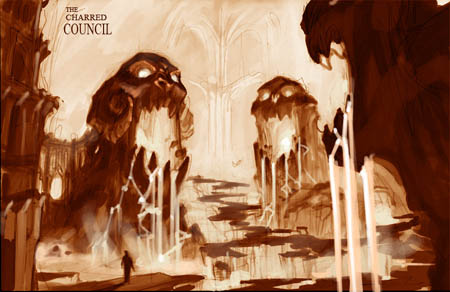 Darksiders The Charred Council concept art