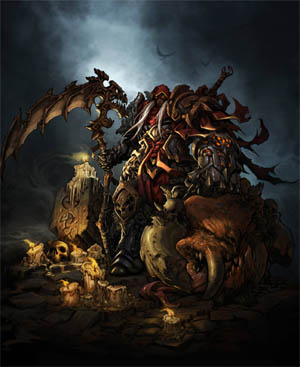 Darksiders gamestop mag poster