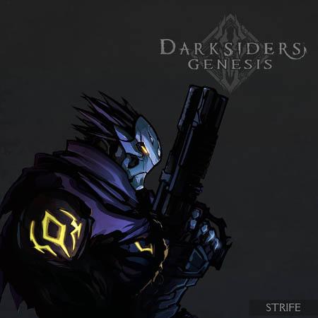 Darksiders Genesis in game Strife portrait (Color)