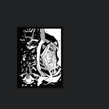 Darksiders Genesis in game War portrait (Sketch)