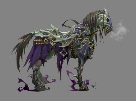 Darksiders Genesis Strife steed Mayhem concept art