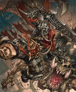 Darksiders: Play mag cover (2008/08)