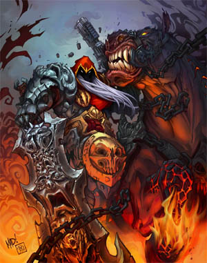Darksiders: Play mag cover 2009/12 (Color)