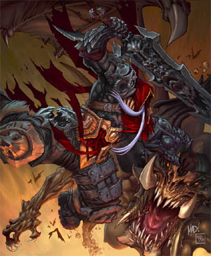 Darksiders: Play mag cover (2008/08) (Other)