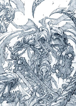 Darksiders: War promo art (Pencil)