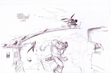 Darksiders: soulbridge concept art (Sketch)