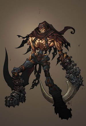 Darksiders unsued Skeleton concept art