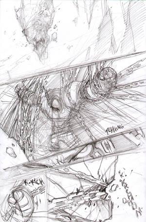 Darksiders War birth scene 1 concept art (Pencil)