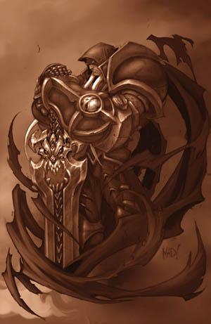 Darksiders War concept art (Knight Stance) (Texture)
