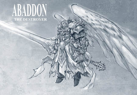 Darksiders2 Abaddon the destroyer concept art (Texture)