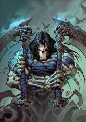 """""""Darksiders II: Death's Door"""" comic cover (Color)"""