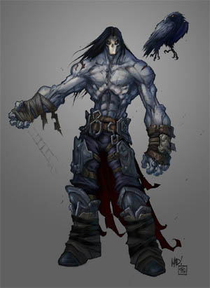 Darksiders 2 Death & Dust first concept art