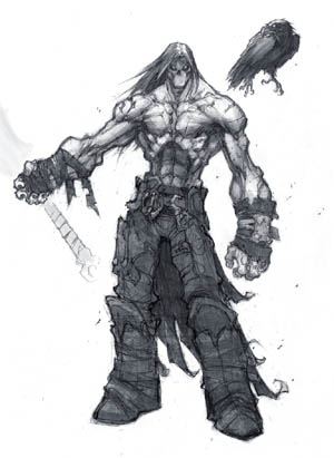 Darksiders 2 Death & Dust first concept art (Texture)