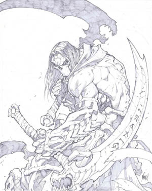 Darksiders II: Promotional art (Pencil)
