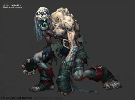 DarksidersII Ghoul Swarm concept art (Color)