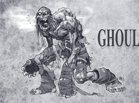 DarksidersII Ghoul Swarm concept art (Texture)
