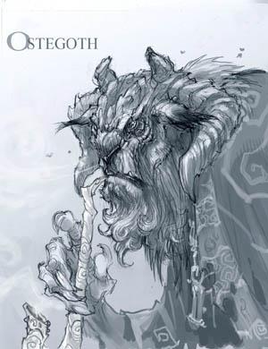 DarksidersII Ostegoth sketch concept art