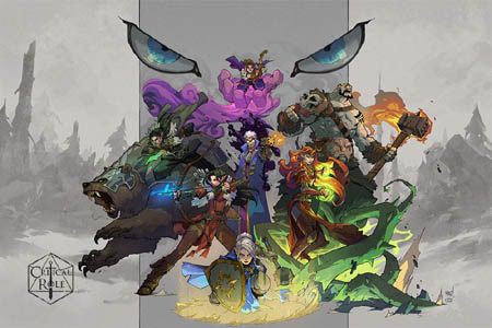 Geek and Sundry critical role limited edition poster