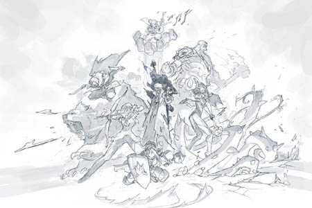 Geek and Sundry critical role limited edition poster (Sketch)