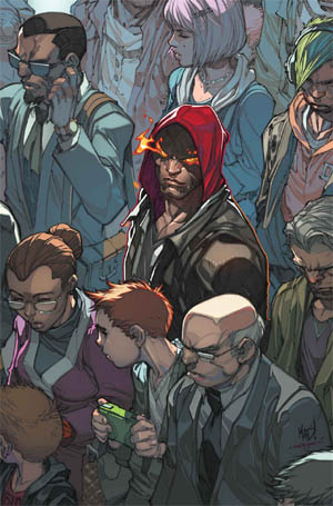 Inhuman #1 cover  (Color)