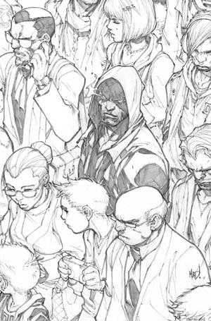 Inhuman #1 cover  (Pencil)