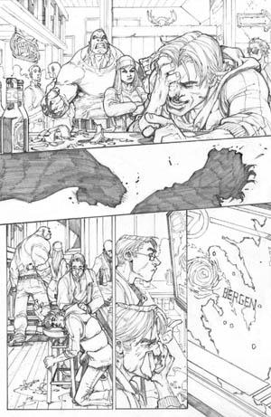 Inhuman #1 page 1 (Pencil)
