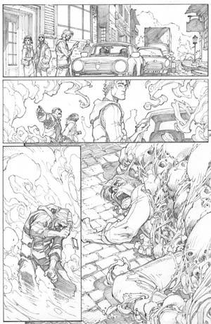 Inhuman #1 page 2 (Pencil)
