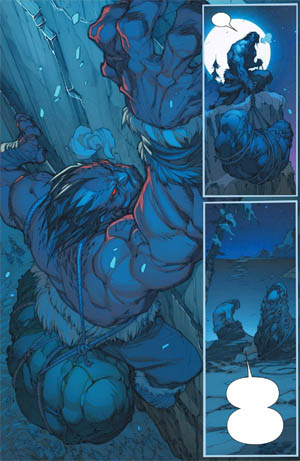 Inhuman #1 page 5 (Color)