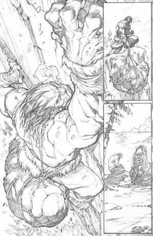 Inhuman #1 page 5 (Pencil)