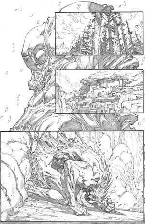 Inhuman #1 page 8 (Pencil)