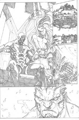 Inhuman #1 page 9 (Pencil)