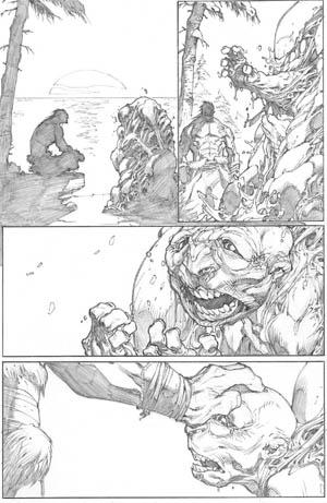Inhuman #1 page 12 (Pencil)