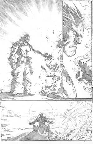 Inhuman #1 page 13 (Pencil)