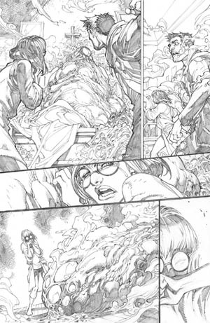 Inhuman #1 page 14 (Pencil)