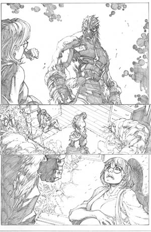 Inhuman #1 page 15 (Pencil)