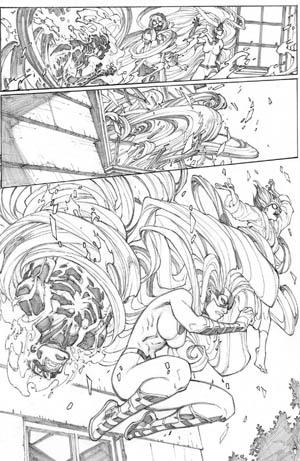 Inhuman #1 page 19 (Pencil)
