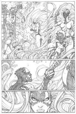 Inhuman #1 page 20 (Pencil)