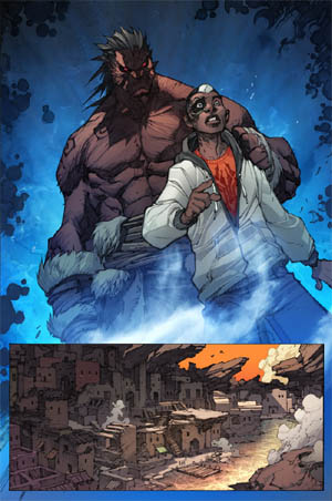 Inhuman #3 page 1  (Color)