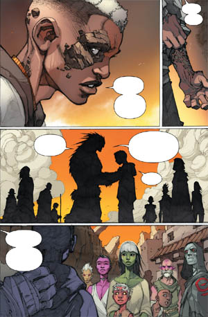 Inhuman #3 page 2 (Color)