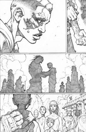 Inhuman #3 page 2 (Pencil)