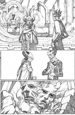 Inhuman #3 page 3 (Pencil)