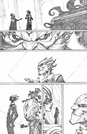 Inhuman #3 page 4 (Pencil)