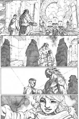 Inhuman #3 page 5 (Pencil)