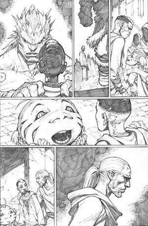 Inhuman #3 page 6 (Pencil)