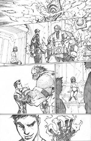 Inhuman #3 page 7 (Pencil)
