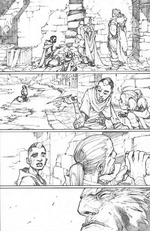 Inhuman #3 page 9 (Pencil)
