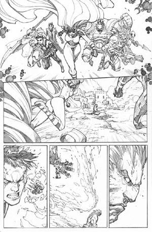Inhuman #3 page 10 (Pencil)