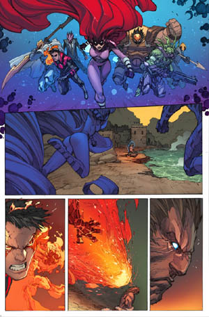 Inhuman #3 page 10 (Color)