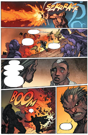 Inhuman #3 page 11 (Color)